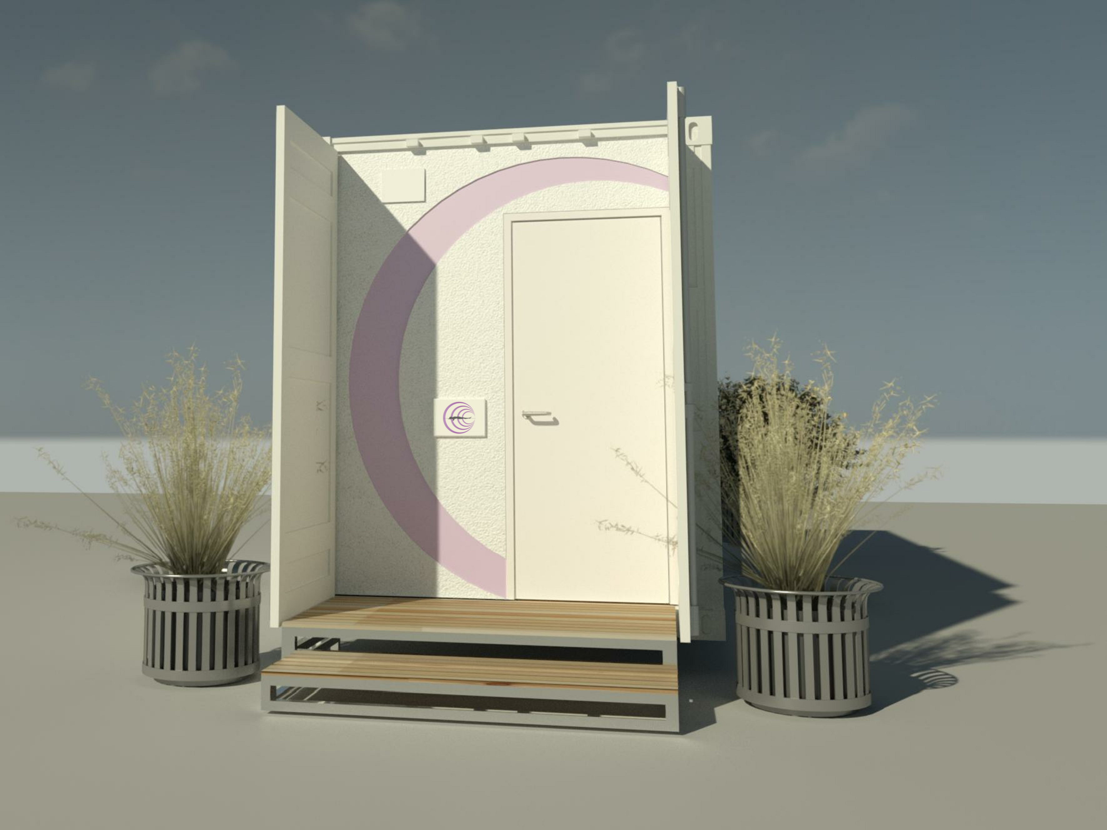 Restmod_Container Renders_Exterior Front_v1
