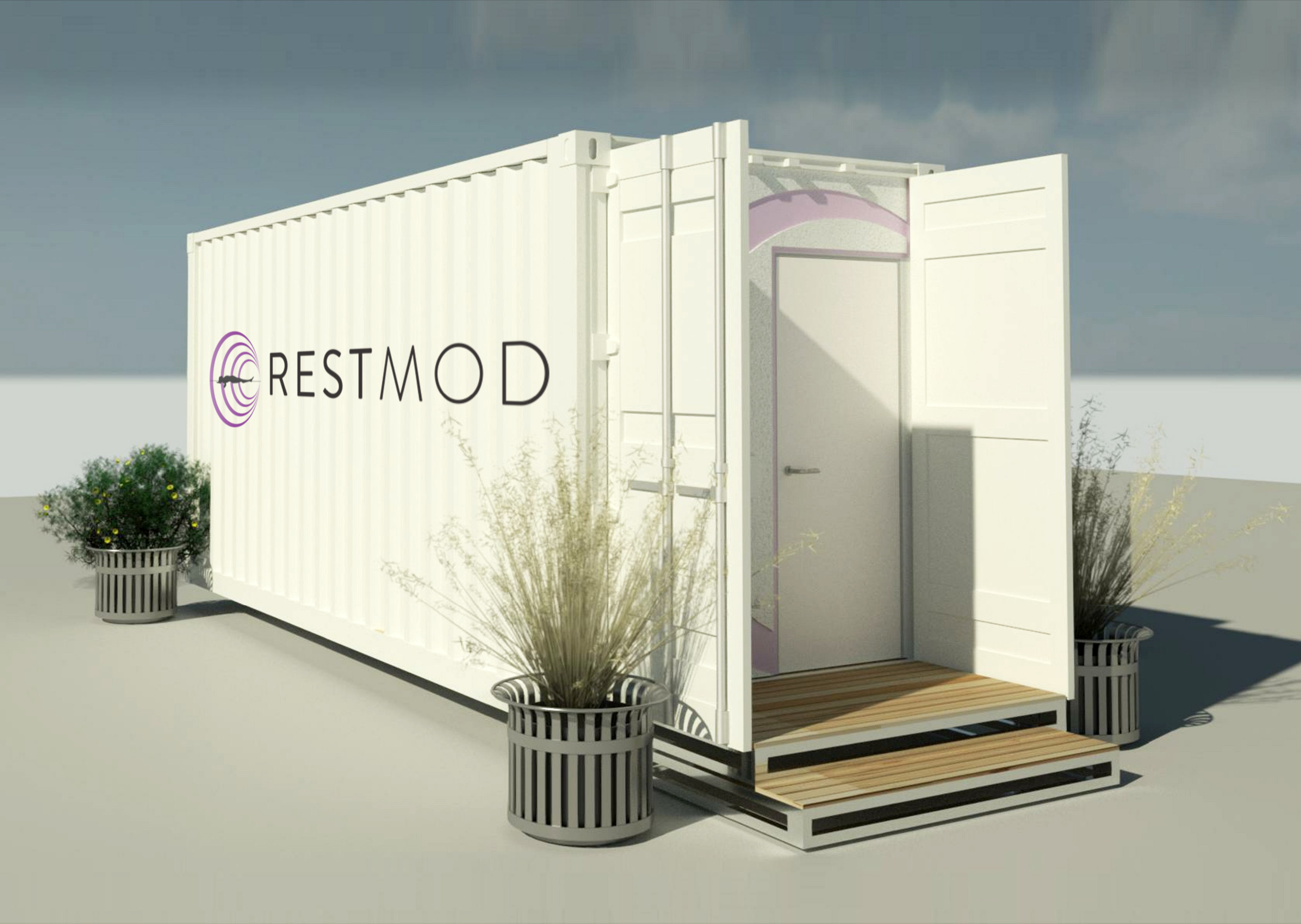 Restmod_Container Renders_Exterior Side_v1